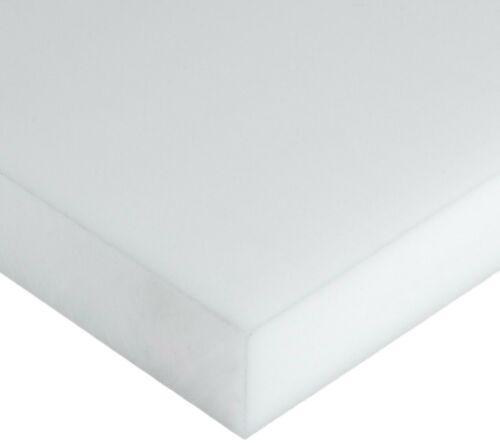 "5//8/"" Delrin Block Natural Acetal Sheet 6.75/""x12/"" Cnc Millstock Plastic 8028"