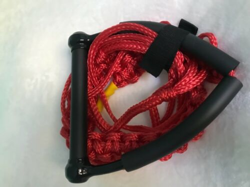 Wakesurf Rope and Handle by Tantrum Tow Ropes Red