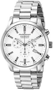 Claude-Bernard-By-Edox-Aquarider-Men-039-s-Watch-10222-3M-AIN-Chronograph-Swiss-Made