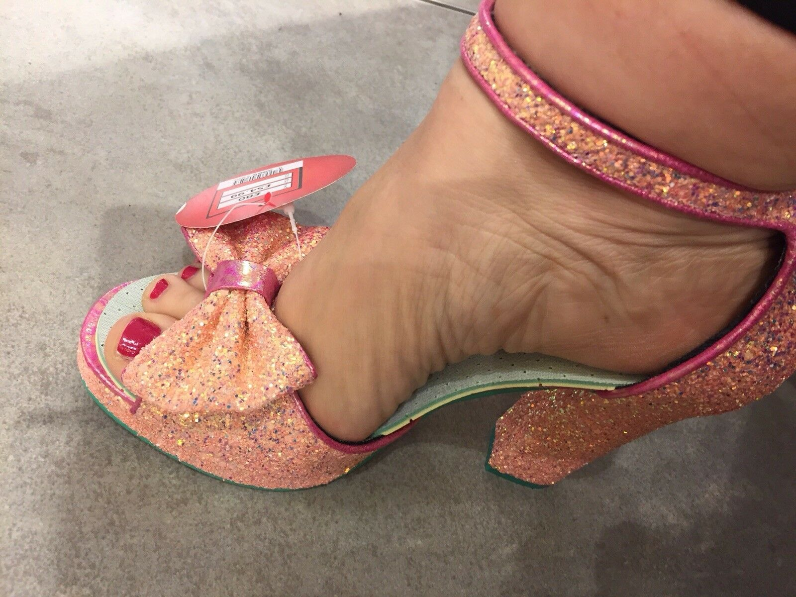 Irregular Choice shoes - Flaming June, Size 6