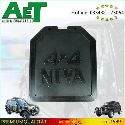 2x Schmutzfänger Lada Niva hinten 4x4 Schmutzlappen schwarz 2121-8404312//13