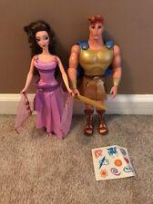 Disney Hercules Mattel Fashion Secrets Megara Meg Sun Spell Hercules Dolls