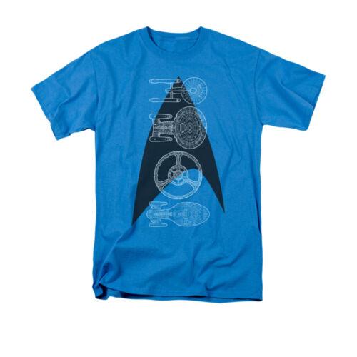 Star Trek Science Fiction série TV Multi-Série de navires et Logo Adulte T-Shirt