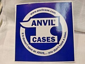 Audacieux Anvil Case Decal Autocollant Guitar Pro Audio Drum Case Decal Sticker Nice-afficher Le Titre D'origine Pour ExpéDition Rapide