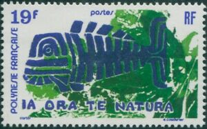 French-Polynesia-1975-Sc-286-SG199-19f-Nature-Protection-MNH