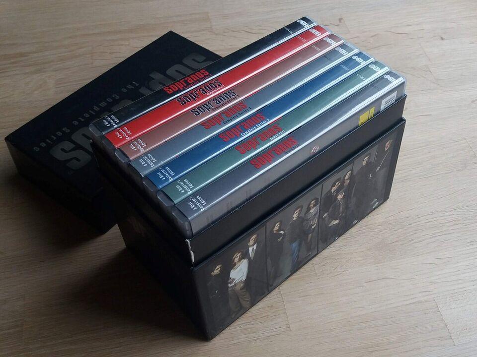 Sopranos, DVD, TV-serier
