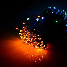 Outdoor Multi-color Solar Power 200 LED String Fairy Lights Wedding Party decor