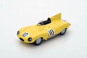 S4388-Spark-1-43-Jaguar-D-Type-10-3rd-Place-Le-Mans-1955-J-Claes-J-Swaters