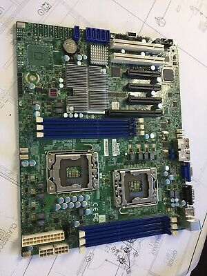 SuperMicro X8DTL-i Xeon Motherboard in Good Working Condition