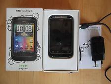 @ HTC Wildfire S schwarz @ Handy ohne Vertrag @ mit Zubehör @