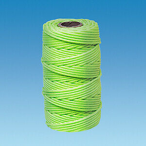 50m Roll Luminous Yellow 50m Guy Rope // Guyline 6999460