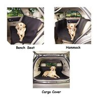 Black Classic Car Seat Covers - Travel Dog Choose From Bench Cargo Or Hammock
