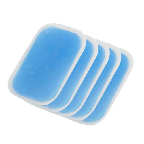 50pcs Replacement Gel Sheet Pad For Muscle Training ABS Body Fit Fitness Gear