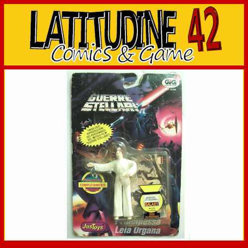 JUSTOYS STAR WARS PRINZESSIN LEILA ORGANA BENDABLE MOC