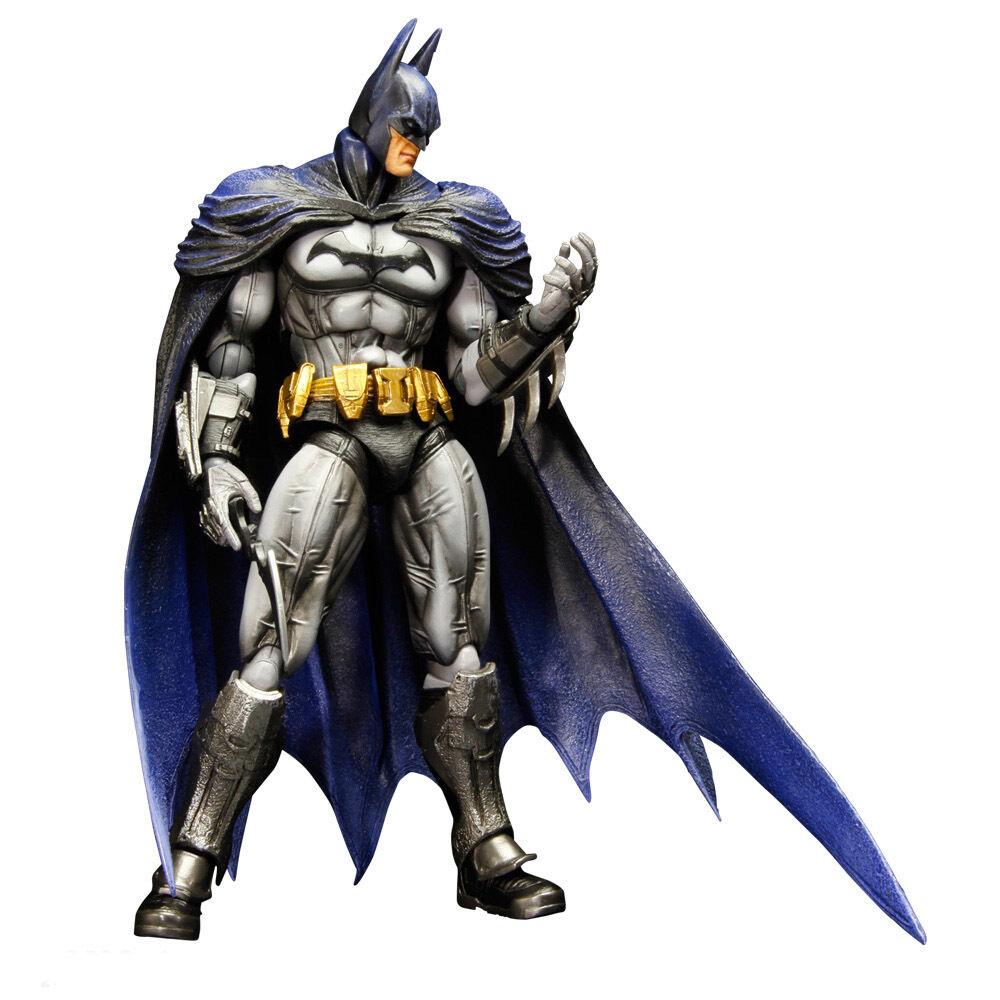 BATMAN  Arkham City - Batman 9  Play Arts Arts Arts Kai Action Figure  NEW 8521b3
