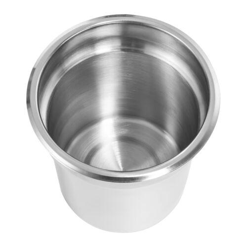 Marie Four Deep Wet Pots Stainless Steel Soup Sauce Food Warmer Bain