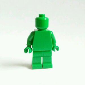 New Lego Green Monochrome Minifigure