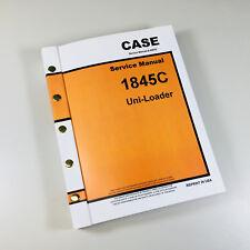 Case 1845c Uni Loader Skidsteer Service Repair Manual Technical Shop Book Ovrhl
