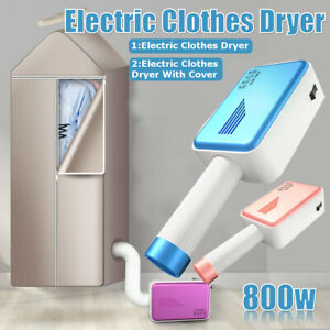 800W-Portable-Electric-Clothes-Dryer-Travel-Laundry-Shoes-Drying-Tube-with-Cover