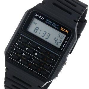 De Multifunción Retro Detalles Ca Calculator Calculadora 53w Reloj Casio Hombre H2DIE9