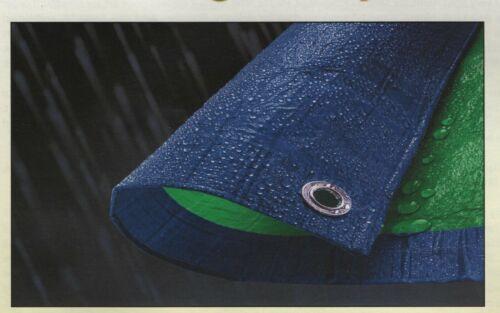 NEW Tarp-Tex Budget 70gsm Dual Colour Green Blue Tarp Tarpaulin Ground Sheet