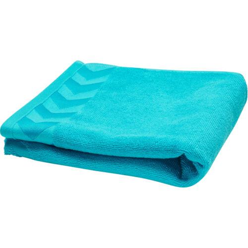 Hummel Old School Small Towel Blau Handtuch Badetuch Baden Duschen Schwimmen NEU