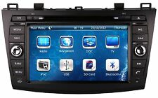"8"" Car Stereo Auto Radio DVD Player GPS Navigation For MAZDA 3 + Free 3D GPS Map"