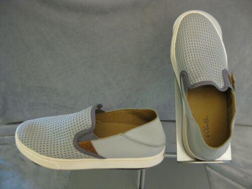 """New w Tag-Olukai-20271-PG26-/""""Pehuea/""""-Pale-Grey//Charcoal-Choose Size"""