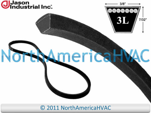 "Carrier Bryant Mars Mars2 Industrial V-Belt P465-3L570 3//8/"" x 57/"""