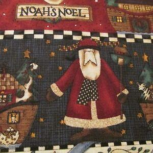 Debbie-Mumm-scrap-piece-cotton-fabric-remnant-FQ-Christmas-Noel