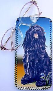 BRIARD-DOG-NEOPRENE-GLASS-CASE-POUCH-SANDRA-COEN-ARTIST-WATERCOLOUR-ARTIST-ART