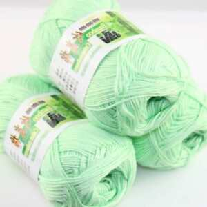 AIP-Sale-3Skeins-x50g-Soft-Bamboo-Cotton-Baby-Wrap-Hand-Knitting-Crochet-Yarn-15