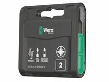855//1 TH Pozidriv Torsion PZ2 Extra Hard Bit 25mm Carded Pack of 2 Wera