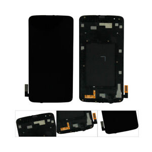 LCD-Screen-Digitizer-Touch-Frame-For-LG-Tribute-5-K7-LS675-MS330-Black-US
