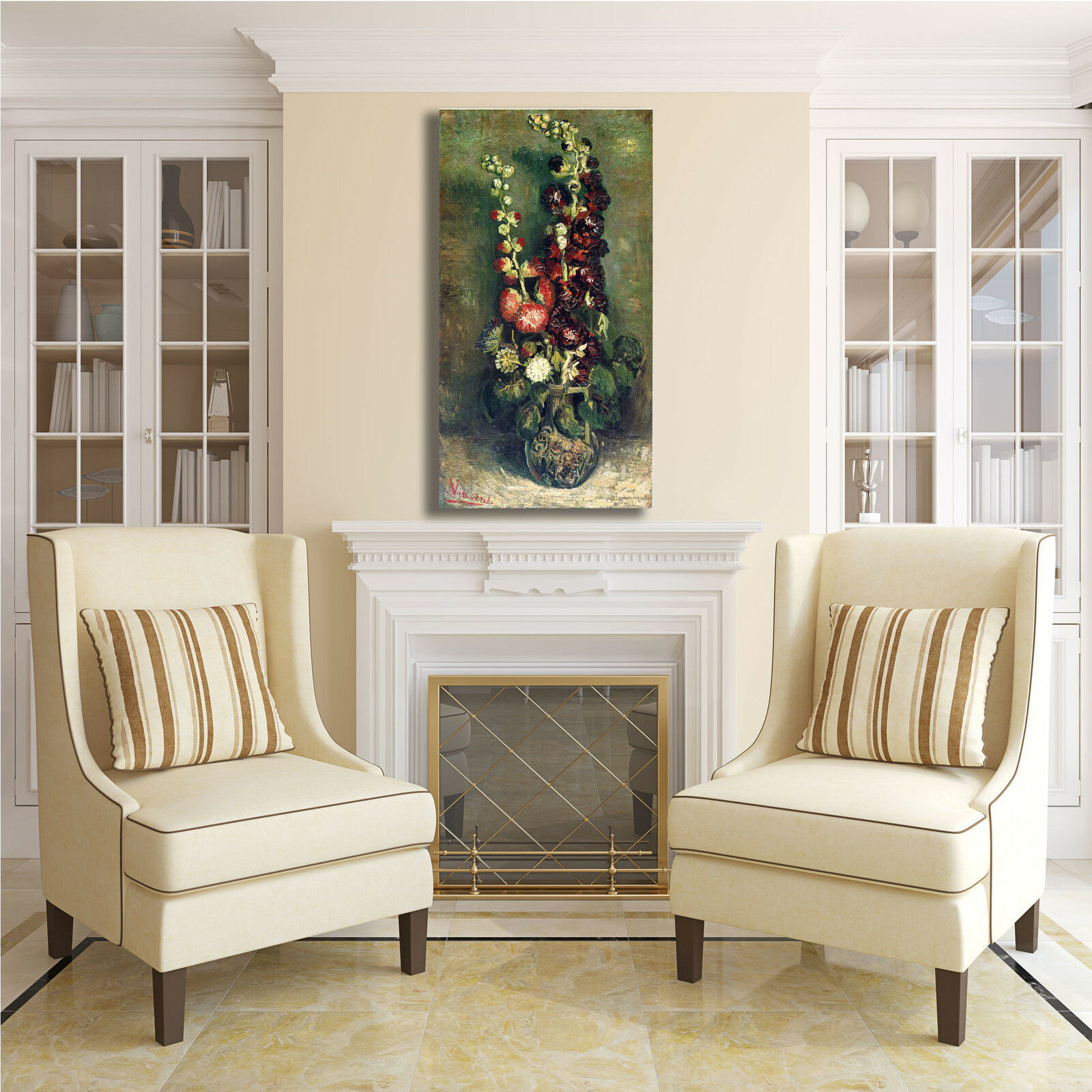 Van Gogh Gogh Van vaso di altee design quadro stampa tela dipinto telaio arRouge o casa 8aaf6d