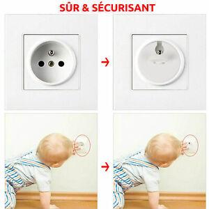 Lot de 6 Cache Prises S/écurit/é pour B/éb/é et Enfant S/écurit/é Maison