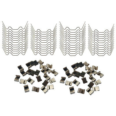 25pcs Stainless Steel Greenhouse Glazing Clips Garden Fittings and Accessories