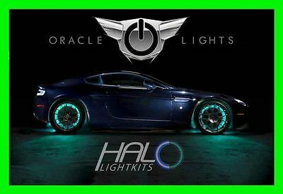 AQUA LED Wheel Lights Rim Lights Rings by ORACLE (Set of 4) for TOYOTA MODELS 1