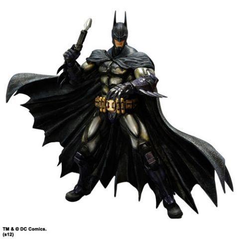 Batman  Arkham Asylum-Armoruge Batman Play Arts Kai Figure Square-Enix nouveau