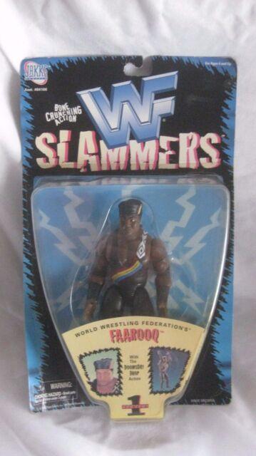 WWF Slammers Series 1 Faarooq Action Figure From Jakks Pacific 1998 NEW t950