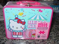 Hello Kitty 100 Piece Circus Puzzle In Lunch Box Tin By Pressman Toy Sealed