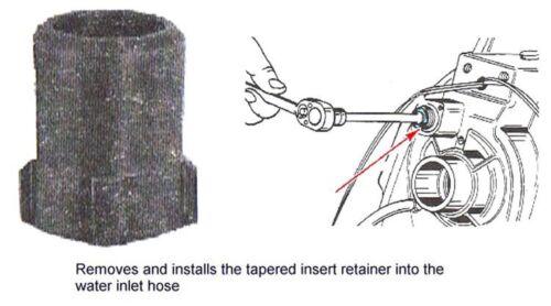 Mercruiser Bravo Bellhousing Gimbal Water Hose Tool /& Insert kit 43579 /& 41674T