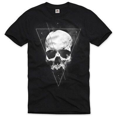 Tattoo Skull Herren T-Shirt totenkopf bike motorrad usa metal death vintage rock