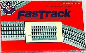 Awesome Lionel O Fastrack Block Section Train Track 6 12060 New Ebay Wiring 101 Mentrastrewellnesstrialsorg