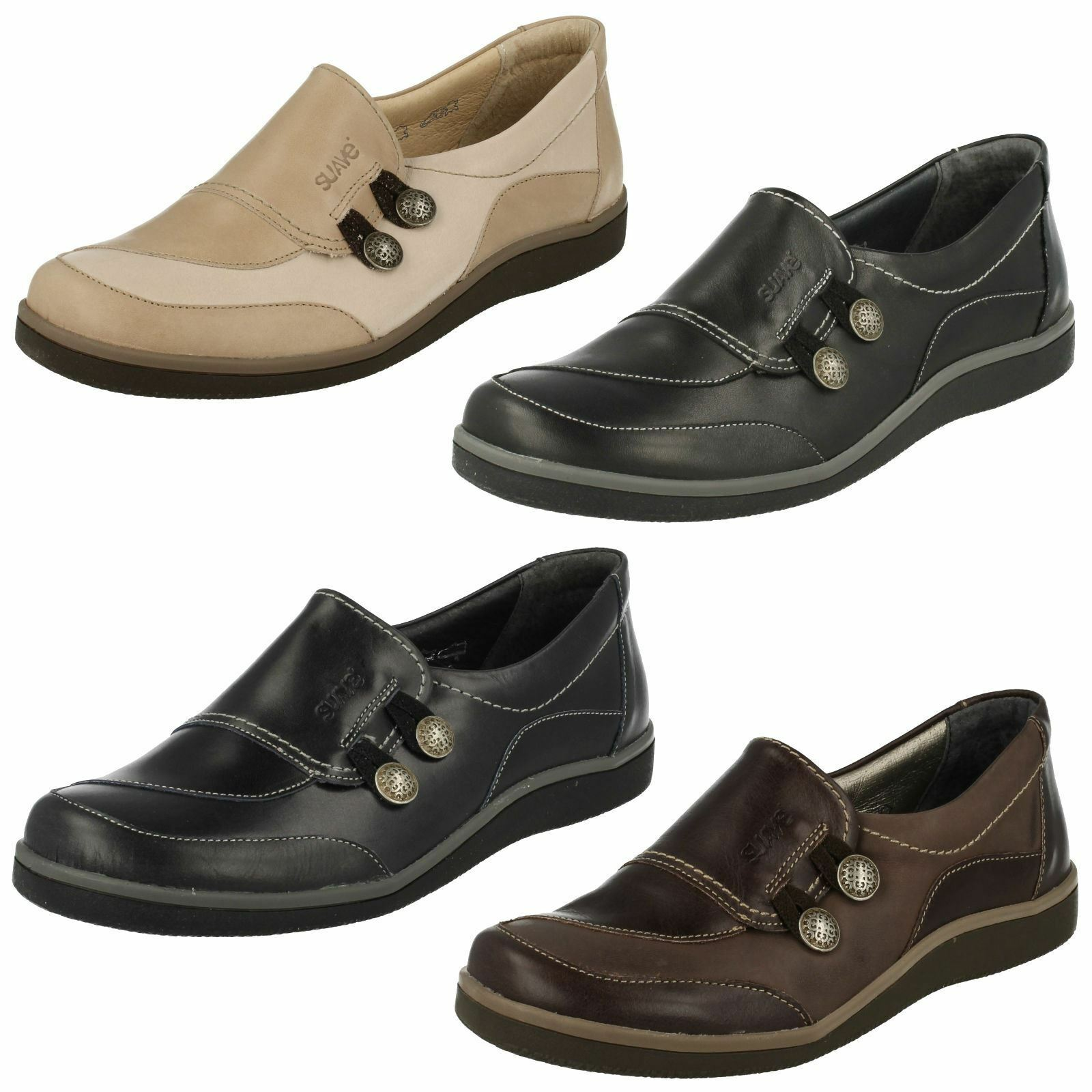 Ladies Suave Versatile Flat shoes (Lucy)