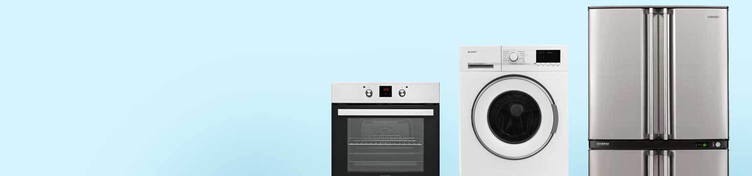 Sharp Haushaltsgeräte bis zu -50% ggü. UVP