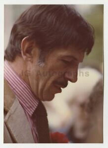 Leonard-Nimoy-Star-Trek-Legend-Vintage-Candid-Photo-by-Peter-Warrack