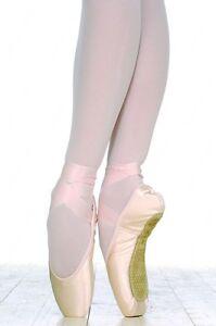 NIB! Grishko 2007 Medium Shank Ballet Pointe Shoes Sizes 4-7 Widths 4X & 5X