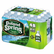 Poland Spring 8oz Water Bottle - Pack of 48