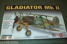LINDBERG  GLOSTER GLADIATOR MkII 1:48 scale  plastic  kit